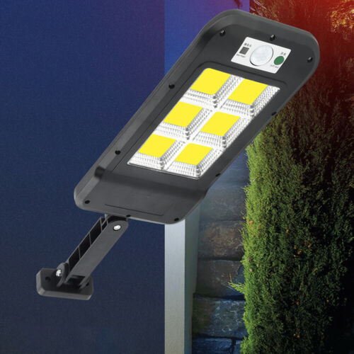 Details about  /Waterproof LED Solar Wall Light Motion Sensor Remote Control Security Lamp //Lot