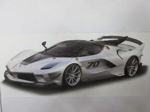 Ferrari Fxx-k Evo Grise au 1/18 Burago