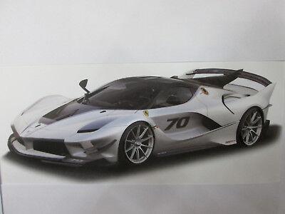 Ferrari FXX-k evo grey 1/18 burago | eBay