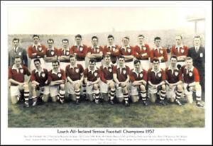 Image Is Loading Louth All Ireland Senior Football Champions 1957 GAA