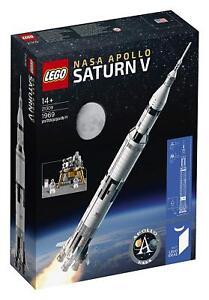 Lego 21309 Idées Nasa Apollo Saturne V - Fusée Lunaire Spazio