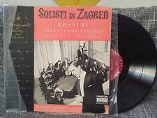 Solisti di Zagreb LP Rossini Sonatas for Strings Vanguard 488