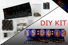 Nixie Clock DIY KIT IN-12 Alarm RGB BACKLIGHT