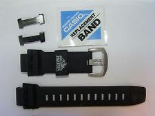 Cinturino Casio Caucciù Nero 18Mm PRW-2000A PRW-5000 PRG-200A PRG-500+Placchette