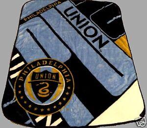 Philadelphia-Union-MLS-blanket-bedding-50x60-soccer-FREE-SHIPPING-Zolos