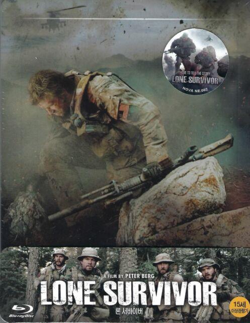 Lone Survivor Nova Media Exclusive 002 SteelBook w.1/4 Slip (Region Free Korea)