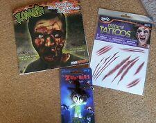 Zombie  decal,  keychain, tattoos funpack