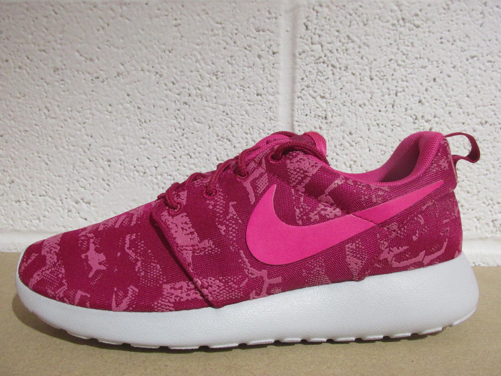 Nike Damenss rosherun 660 print running trainers 599432 660 rosherun Turnschuhe schuhe 4ba050