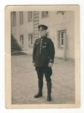 22/718 FOTO POLIZIST MIT ORDEN GOTHA 1938  - MÄNGEL - FOTO