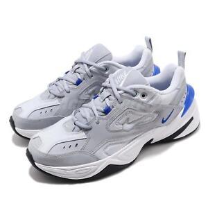 Details about Nike M2K Tekno Grey Blue White Black Men Chunky Daddy Shoes  Sneakers AV4789,005