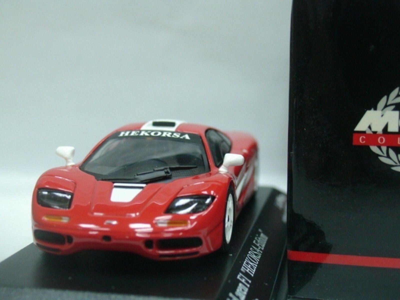 WOW EXTREMELY RARE McLaren BMW F1 GTR SWB Red White Ltd 999 1 43 Minichamps-GT