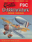 Curtiss F9C Sparrowhawk Airship Fighters by Richard Hoffman (Paperback / softback, 2008)