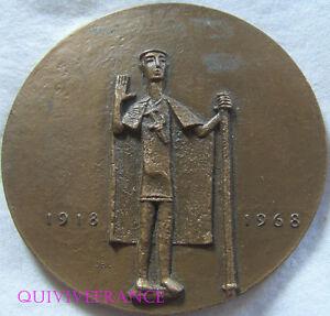 MED5805-MEDAILLE-UNION-DES-AVEUGLES-DE-GUERRE-1918-1968