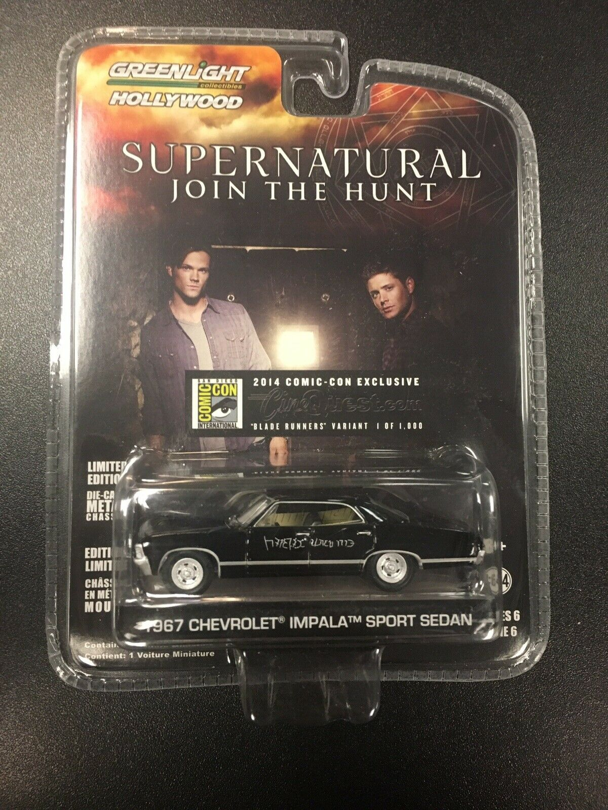 verdelight 2014 Comic Con sobrenatural 1967 Impala
