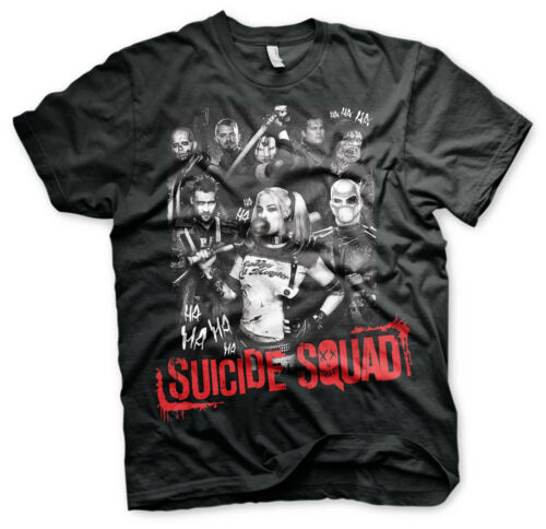 4XL 5XL Men/'s T-Shirt Officially Licensed Suicide Squad BIG /& TALL 3XL