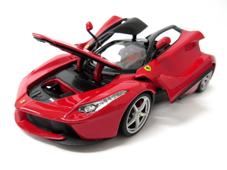 BBURAGO 1 1 1 18 Ferrari LaFerrari Signature Modello Diecast Auto Da Corsa Rosso Nuovo in Scatola acc8d6