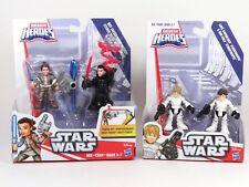 2016 Star Wars Playskool Galactic Heroes Han Solo & Luke Skywalker Stormtrooper