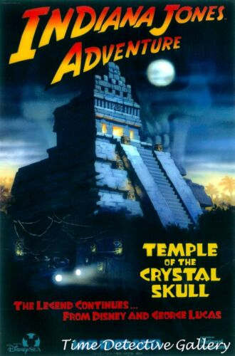 Indiana Jones Adventure Available in 5 Sizes Disney Sea at Tokyo Poster