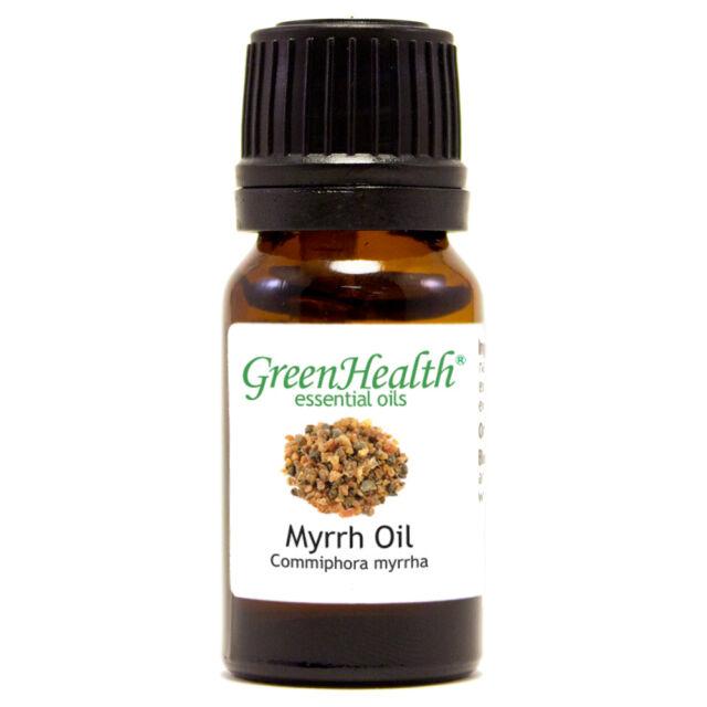 10 ml Myrrh Essential Oil (100% Pure & Natural) - GreenHealth