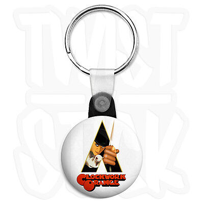 Watchmen Stormtrooper Smiley 25mm Keyring Button Badge with Zip Pull Option