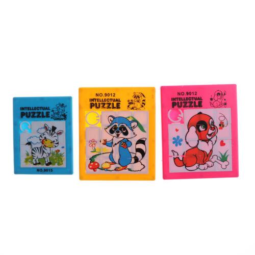 Random Animals Puzzle Slide Game Jigsaw Toy Kids Educational Gift Toys n QX