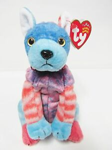 117905838fd Image is loading Ty-Beanie-Baby-Hodge-Podge-the-colorful-dog-