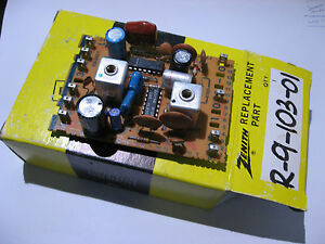 R-9-103-01-Zenith-Replacement-Part-Audio-Module-Television-TV-NOS-Vintage