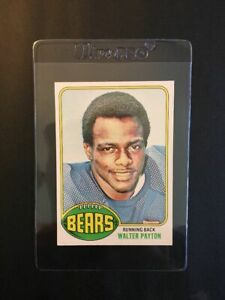 1976 Topps Football #148 Walter Payton Rookie Card, NM-MT, Centered