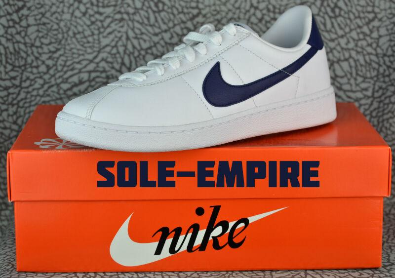Nike Bruin Leather 826670-140 White Loyal Blue 70's Classic Rare Mcfly Retro Lab