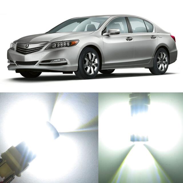 Alla Lighting Rear Signal Light 7440na White LED Bulbs For
