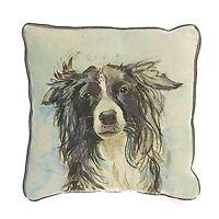 Voyage Maison Ash Dog Feather Filled Cushion 45cm X 45cm