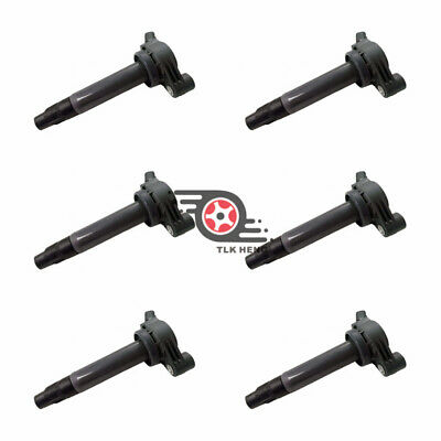 6x OEM Ignition Coils 673-1301 Denso for Toyota Avalon Camry Lexus ES300 RX300