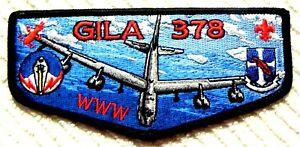 GILA-OA-LODGE-378-YUCCA-COUNCIL-TEXAS-66-78-TX-FLAP-B-52-UNITED-STATES-AIR-FORCE