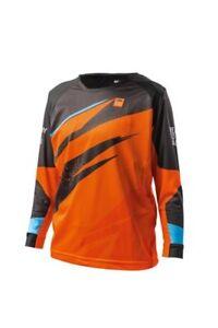 KTM-Pounce-Shirt-Kids-Orange-Off-road-Motocross-Motorcycle-Jersey-2019-New