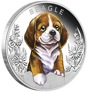 2018-Puppies-Beagle-Tuvalu-1-2-oz-Silver-Proof-50c-Half-Dollar-Coin-Colorized