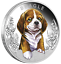 2018-Puppies-Beagle-Tuvalu-1-2-oz-Silver-Proof-50c-Half-Dollar-Coin-Colorized thumbnail 1
