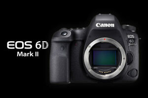 Canon EOS 6D Mark II DSLR Camera with 24-105mm f/4L IS II USM Lens - BRAND NEW