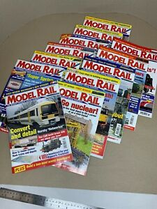 Job-Lot-Bundle-of-12-Issues-of-Model-Rail-Magazine-Jan-2003-Dec-2003