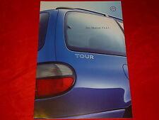 """VW Sharan """"Tour"""" Sondermodell Prospekt von 10/1999"""