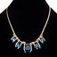 Fashion-Elegant-Women-Rhinestone-Crystal-Choker-Bib-Statement-Pendant-Necklace thumbnail 23
