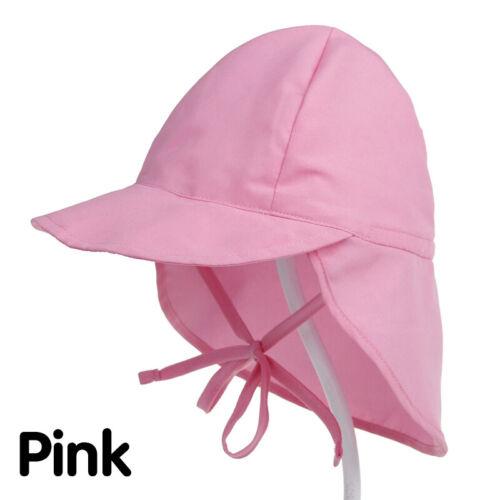 Sun Hat Baby Boys Girls Summer Beach Hat Legionnaire Cap Cotton 3 M-5 Years 13US