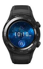 Huawei Watch 2 (4G) 45mm KunststoffGehäuse mit Sportarmband Carbon Black