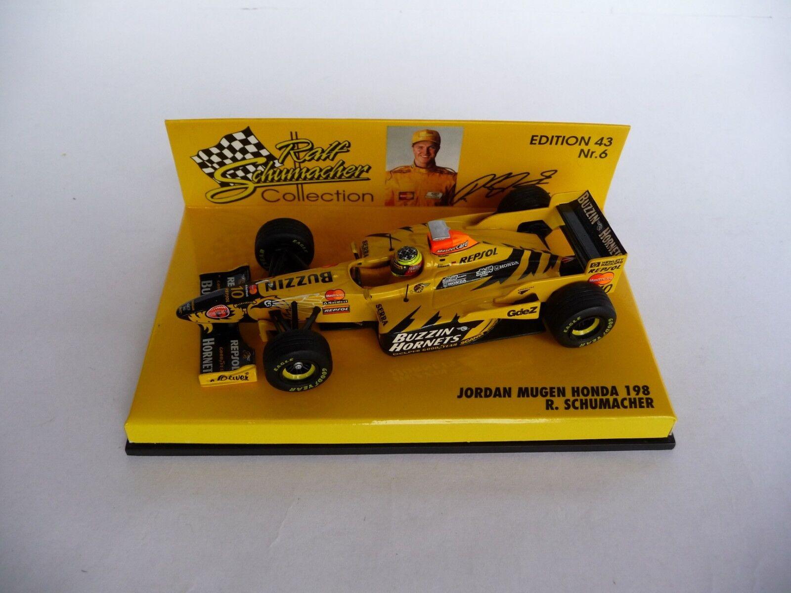 Minichamps 1 43 Jordan Mugen Honda 198 Ralf Schumacher 984310