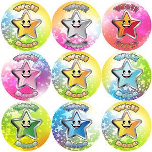 144-ben-fatto-30-mm-Reward-Adesivi-per-la-scuola-insegnanti-genitori-e-Nursery