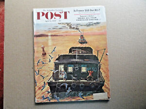 Saturday-Evening-Post-Magazine-April-6-1957-Complete