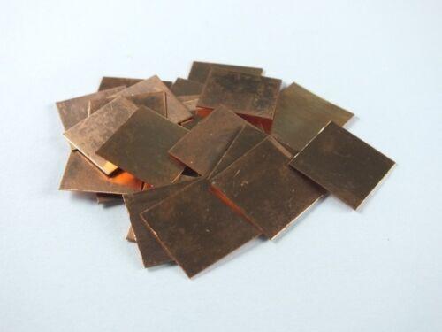 10pcs Copper Heatsinks Cooling Copper Pad Shim laptop CPU Size:15mm*15mm*0.3mm