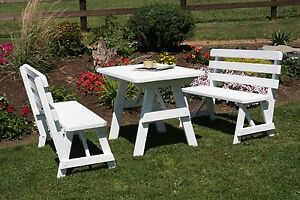 Outdoor Foot Picnic Table W Backed Benches Paint Colors - Picnic table paint colors