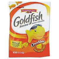 Pepperidge Farm Goldfish Crackers Cheddar Single-serve Snack 1.5oz Bag 72/carton on sale