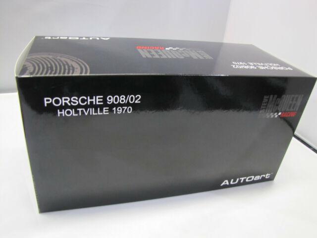 87073 Autoart Porsche 908/02 1970 Steve Mcqueen Holtville Núm 66A - 1:18