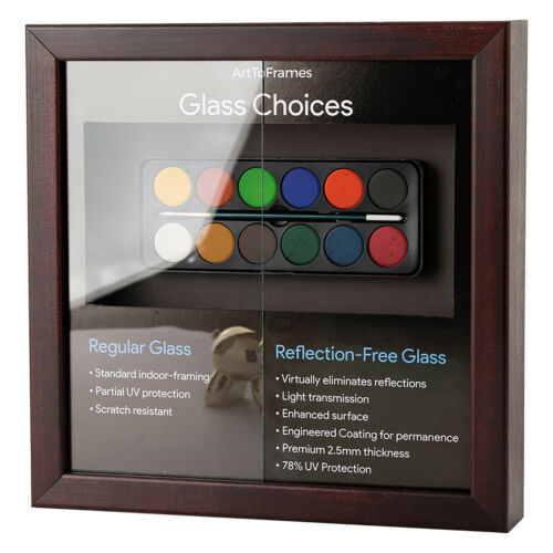 """ArtToFrames 10/""""x10/"""" Glass Replacement for Picture Frames"""